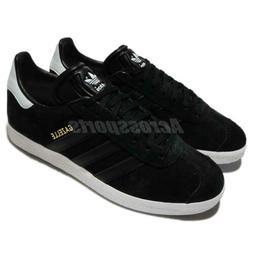 adidas Originals Gazelle W Suede Black White Blue Women Shoe