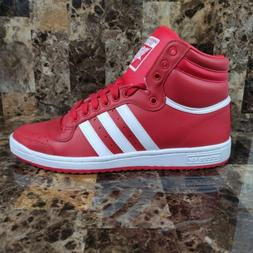 Adidas Originals Top Ten Hi Shoes Red Scarlet White Mens Sne