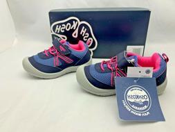 OSHKOSH B'GOSH $39 ABIGAIL Athletic Sneakers Shoes Washable