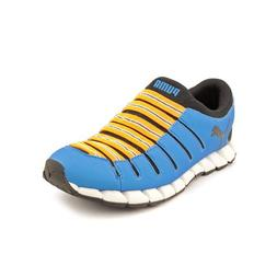 PUMA Men's Osu 3 Running Shoe,Brilliant Blue/Black/Zinnia,14