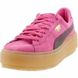 Puma Platform Trace Block  Casual   Sneakers - Pink - Womens