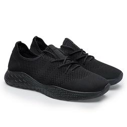 Plus Size Mens Running Shoes Breathable Sports Walking Athle