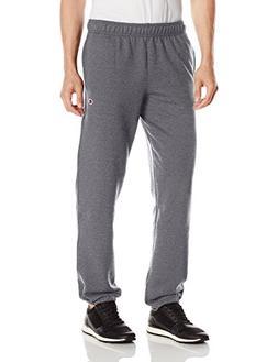 Champion Men's Powerblend Sweats Relaxed Bottom Pants Granit