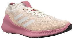 adidas Women's PureBounce+ Running Shoe, Cloud White/Trace M