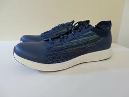 TRAQ BY ALEGRIA QEST WOMEN'S WALKING SHOES SNEAKERS NAVY BLU