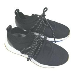 Champion Rally Hype Women's 7 Black Canvas Low Top Sneakers