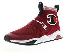 Champion Rally Pro CP100012M Mens Red Canvas High Top Sneake
