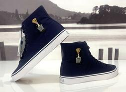 Ralph Lauren Polo Bear Solomon High-Top Sneakers Mens size 9