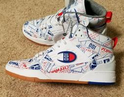 Rare CHAMPION 3 on 3 100 Anniversary Mid Mens Shoes Sneakers
