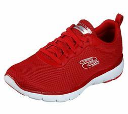 Skechers Red shoes Memory Foam Women Sport Comfort Sneaker T