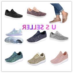 Link Remy18 Women&Kids Fashion Sneaker-Lightweight Glitter Q