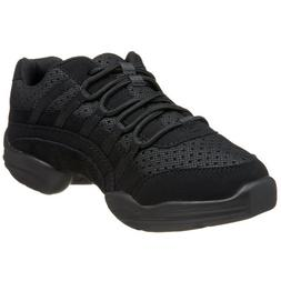 Capezio Women's Rockit Dance Sneaker,Black,9.5 M US