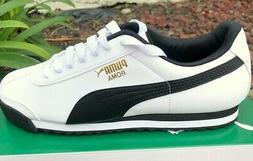 PUMA Roma Basic Classic 35357204 White Black Mens Shoes Snea
