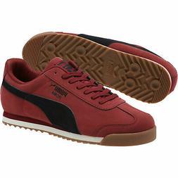 PUMA Roma Smooth Nubuck Sneakers Men Shoe Sport Classics New