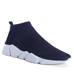 running transform flyknit sneakers blue