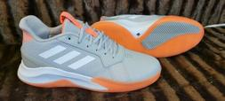 Adidas Runthegame  Mens Basketball Sneakers Shoes Casual Gre