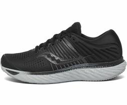 Saucony S20546-35 Mens Triumph 17 Running Shoes Sneakers Bla