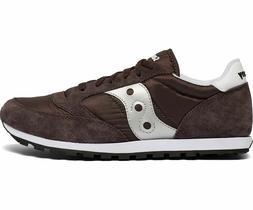 Saucony S2866-267 Men's Jazz Low Pro Sneakers - Coffee / Sil