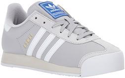 adidas Originals Women's Samoa Running Shoe Grey Two/White/T