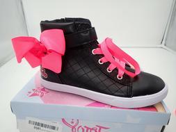 Single left shoe size 2 Jojo Siwa Girls High Top Sneaker one