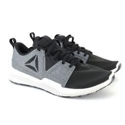 Reebok Size 10 HYDRORUSH TR Black Gray Athletic Training Sne