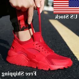 Size 3.5-13 Men Women Sneakers Athletic Shoes Sports Breatha