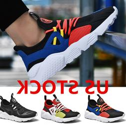 Size 7-13 Mens Sports Sneakers Running Casual Athletic Breat