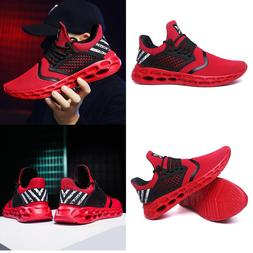 Size8-12 Mens Tennis Shoes Gym Shoes Ultralight Casual Athle