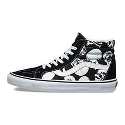 Vans Unisex Shoes SK8 Hi Reissue  Black/White Skate Sneakers