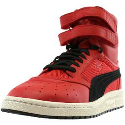 Puma Sky II High Color Blocked Leather  Casual   Sneakers -