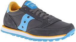 Saucony Jazz LowPro Shoe - Women's Charcoal/Blue, 9.0