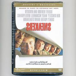 Sneakers 1992 PG-13 comedy caper movie, new DVD Redford Aykr