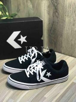 Sneakers Men's Converse El Distrito Low Top Canvas Black Whi
