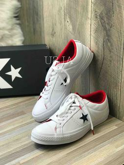 Sneakers Men's Converse One Star Leather Low Top White Athle