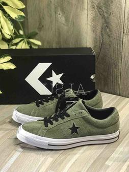 Sneakers Men's Converse One Star Suede Field Surplus Green L