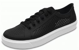 Crocs Sneakers Roka Court  Black / White Women 6, 7   Waterp