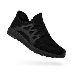 QANSI Men's Boys Sneakers Ultra Lightweight Breathable Mesh