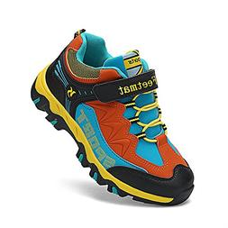QANSI Boys Tennis Shoes Comfortable Waterproof Little Kids S