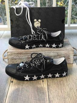 Sneakers Woman's Converse&Miley Cyrus Ctas Patent Black Whit