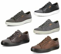 ECCO Soft 7 Men's Casual Leather Fashion Sneakers Walking Sh