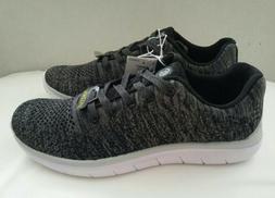 Champion Speedknit Boys Black Gray Sneakers Size 6 Lightweig
