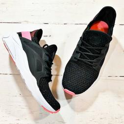 Champion Speedknit Sneakers Girls Size 2 Black