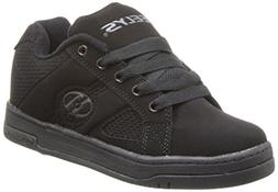 Heelys Split Skate Shoe , Black/Black, 2 M US Little Kid
