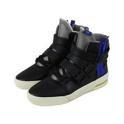 Radii Straight Jacket Plus Mens Black Leather High Top Sneak