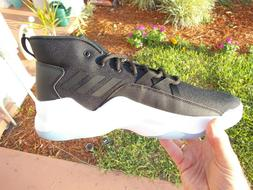 ADIDAS STREETFIRE BASKETBALL SHOES SNEAKERS  BLACK / WHITE