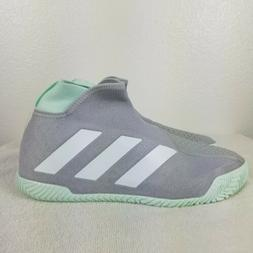 Adidas Stycon Men's Tennis Shoes Gray Green Racket Racquet R