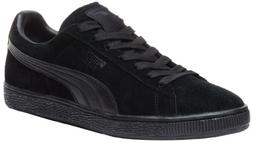 Puma Suede Classic LFS Shoes - Black/Black - Mens - 10.5