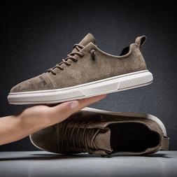 Suede Leather Designer Vintage <font><b>Sneakers</b></font>