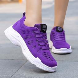 Summer Running Shoes for Women Lightweight Breathable Mesh A