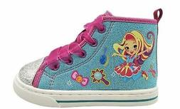 Sunny Day Doll Sneakers for Toddler Girls Shoes High Top Sho